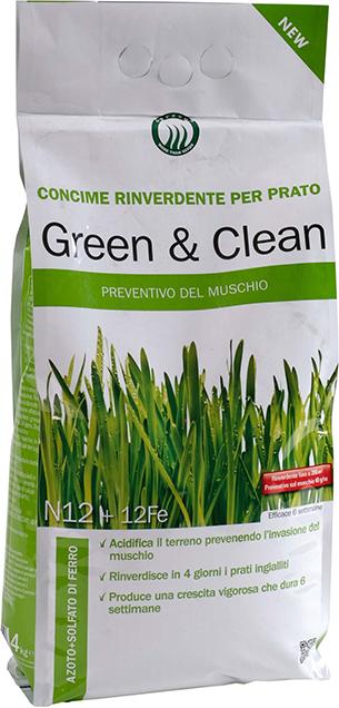 concimi per prato green clean
